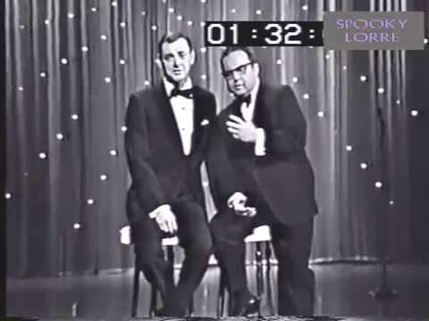 Allan Sherman sings CRAZY DOWNTOWN his Petula Clark parody