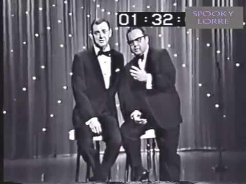 Allan Sherman sings CRAZY DOWNTOWN his Petula Clark parody