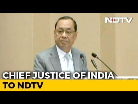 """""""I'm Not A Politician Or Diplomat To Keep Smiling"""": Chief Justice To NDTV"""