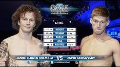 "CAGE 36: Janne ""Jamba"" Elonen-Kulmala vs David Skrikovsky Full Fight"