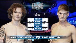 "Baixar CAGE 36: Janne ""Jamba"" Elonen-Kulmala vs David Skrikovsky Full Fight"