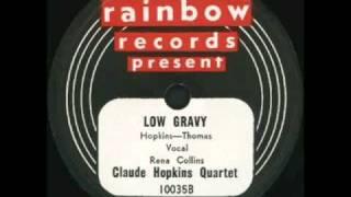 Claude Hopkins Quartet Low Gravy Rainbow 10035B 78 rpm spin