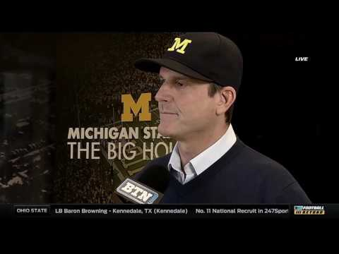Jim Harbaugh on 2017 Signing Day Class