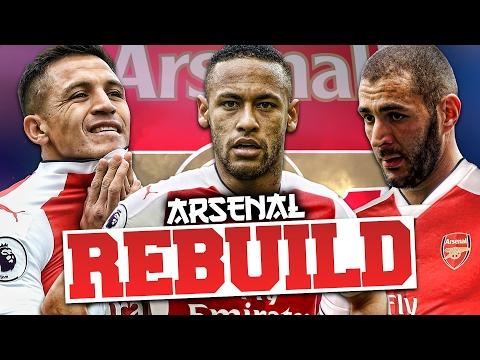 REBUILDING ARSENAL!!! FIFA 17 Career Mode