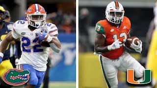 Florida Gators vs. Miami Hurricanes Hype Video