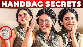 VICTORIA'S SECRET Inside Priya Prakash Varrier's Handbag Revealed | What's Inside the HANDBAG