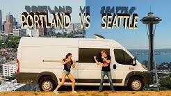 PORTLAND vs SEATTLE | Coffee, Traffic, Van Life