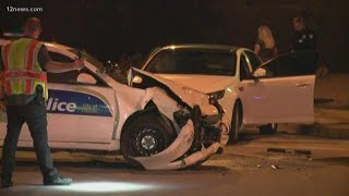Phoenix police officer involved in car accident