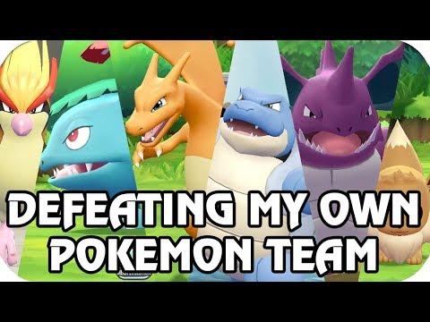 Pokémon Let's Go Pikachu & Eevee : Challenging My Own Team [Master Trainer] (1080p60)