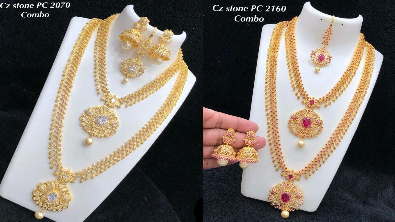 1 Gram Gold Cz Haram Design Collections