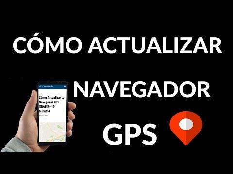 ¿Cómo Actualizar tu Navegador GPS GRATIS en 5 Minutos?