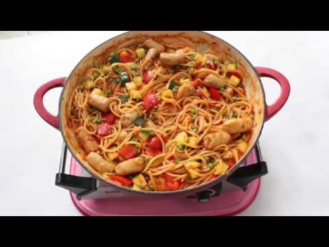 One Pot Sausage Spaghetti | Easy Family Recipe