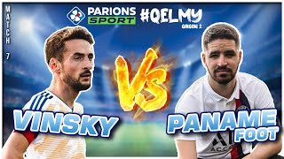 VINSKY VS PANAME FOOTBALL : UN DEFI INCROYABLE ! (QELMY Saison 2)