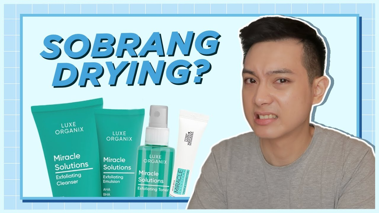REAL-TALK REVIEW: Luxe Organix AHA BHA Miracle Solutions  Line | Jan Angelo