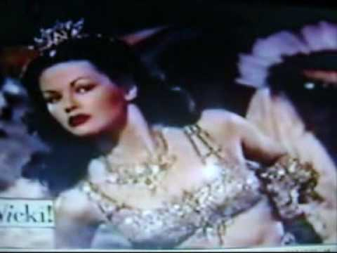 YVONNE DE CARLO (LYLY MUNSTER) SALOME WHERE SHE DANCED