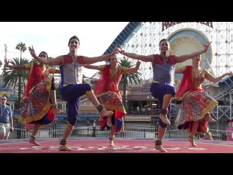 Bollywood Dance Performance at Disneyland Resort