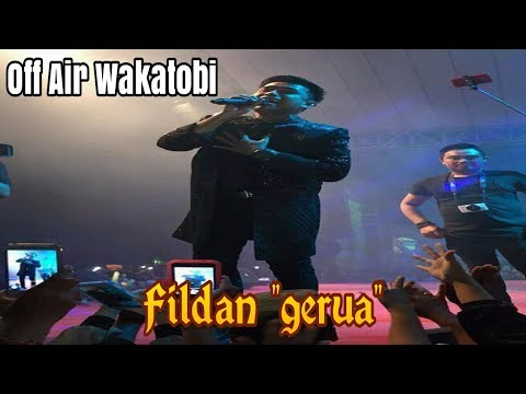 Luar Biasa Konser Fildan DA4 ~ Gerua || Lapangan Merdeka Wakatobi