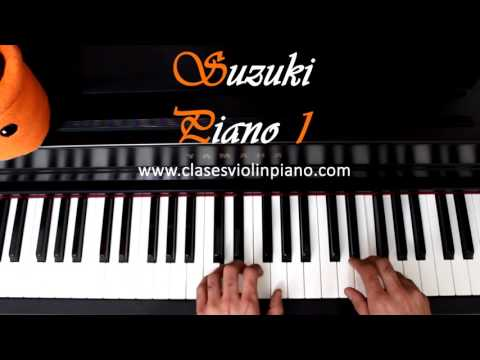 6 French Childrens Song / SUZUKI PIANO 1 FULL Completo HD