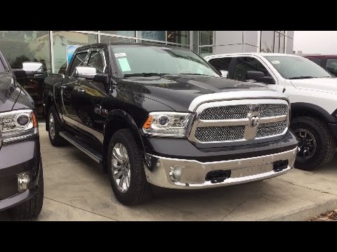 2017 ram 1500 laramie longhorn crew cab 4x4 custom truck crosstown auto centre youtube. Black Bedroom Furniture Sets. Home Design Ideas