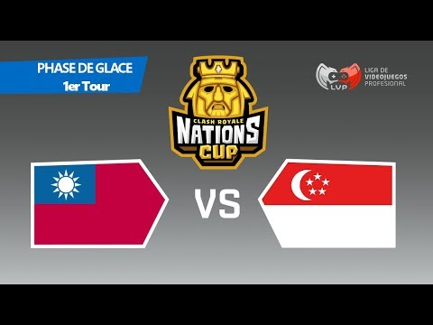 TAIWAN vs SINGAPORE - Coupe du Monde || CR Nations Cup - Phase 1