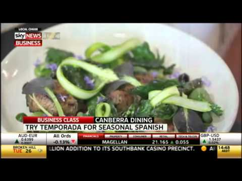 Canberra dining guide with Adam Ford   Sky News Business Class