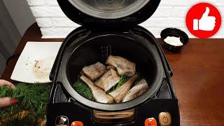 Без жарки и возни Я не могу перестать готовить рыбу в мультиварке Вкуснее ужина еще не было