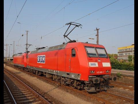 Führerstandmitfahrt BR 145 Oberhausen Hbf-Gelsenkirchen-Hamm