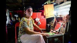 "[4K] 2019 ""Chinese Operas"" on vegetarian week festival at Chit Sia Ma Shrine Chinatown, Bangkok"