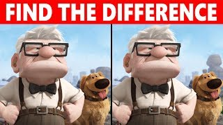 Bet You Can't FIND THE DIFFERENCE | 99% FAIL | Up Movie Puzzle
