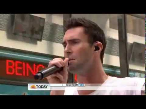 Maroon 5 : Moves Like Jagger - The Today Show  06/29/2012
