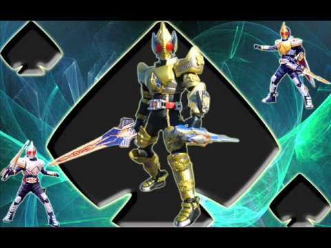 Kamen Rider Blade OST  : Henshin King Form Theme : 74 VA Saikyou!
