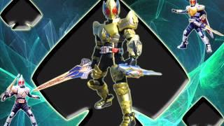 Kamen Rider Blade OST  : Henshin King Form Theme : 74 V.A. Saikyou!