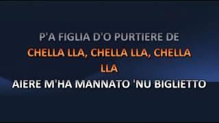 Renato Carosone - Chella La (Video karaoke)