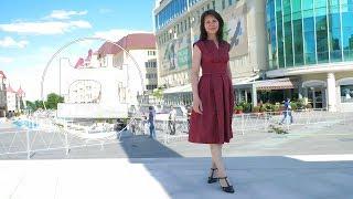 👗 Обзор платья с закрытой подкладкой и рукавом