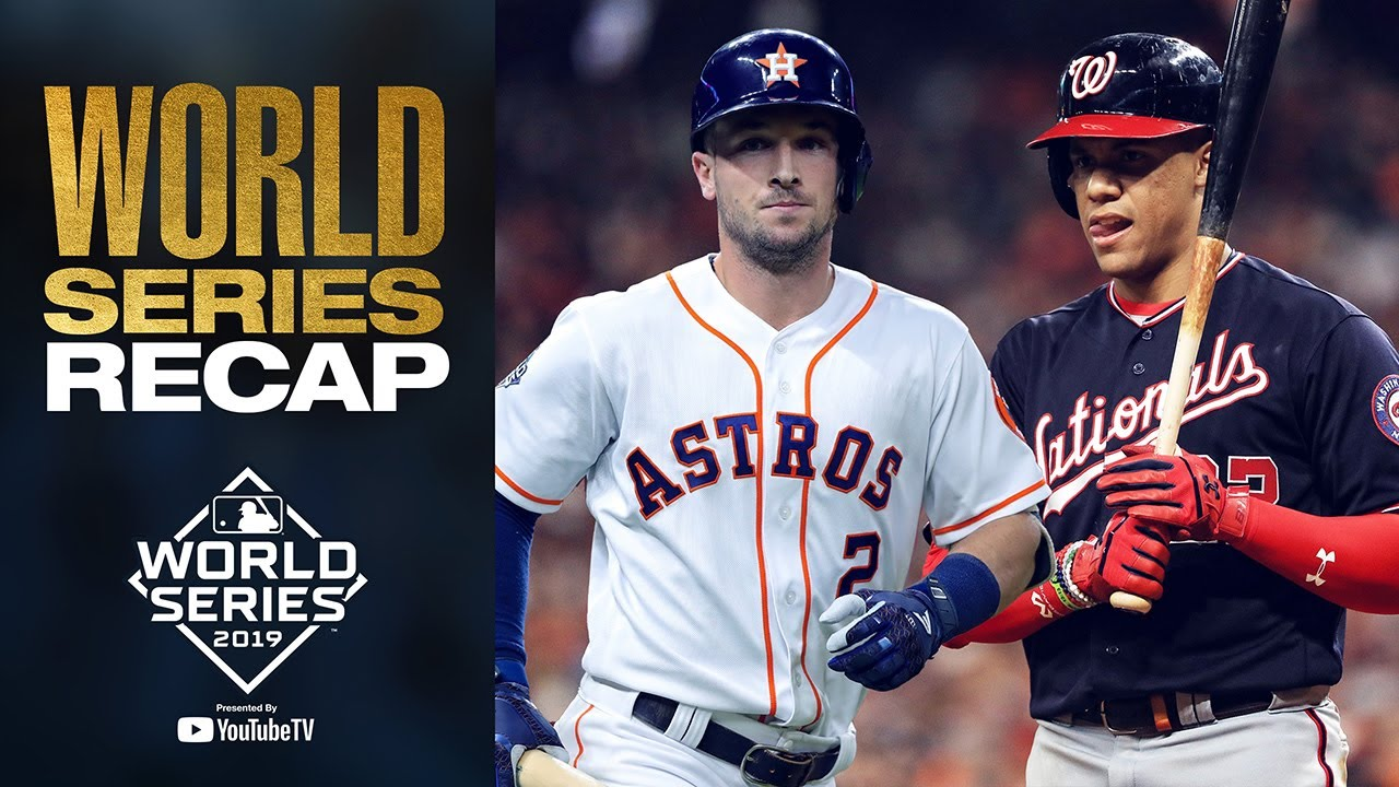 Download Nationals and Astros battle it out for 7 games! | 2019 World Series Full Recap + Highlights