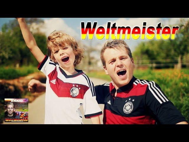 Fussball WM Song 2014 - Weltmeister - Tobee