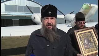 Митрополит Пензенский и Нижнеломовский Серафим на самолете облетел регион с молитвой
