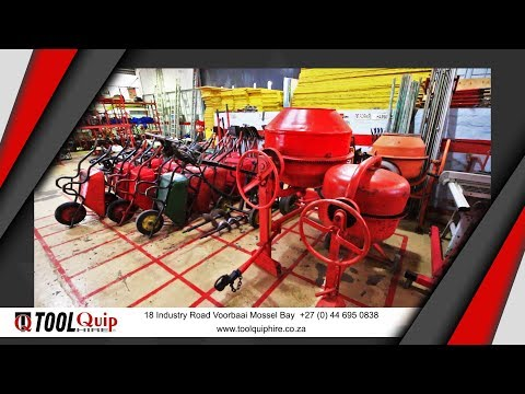 ToolQuip Hire Mossel Bay - Tool & Equipment Hire Garden Route South Africa