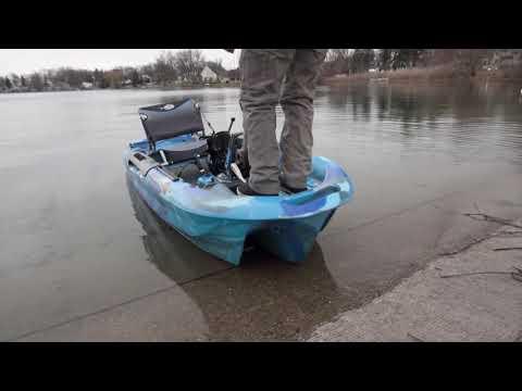 FULL REVIEW BIG FISH 108 KAYAK! - AFFORDABLE PEDAL DRIVE!