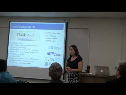 Beth Karlin Ph.D. Thesis Defense