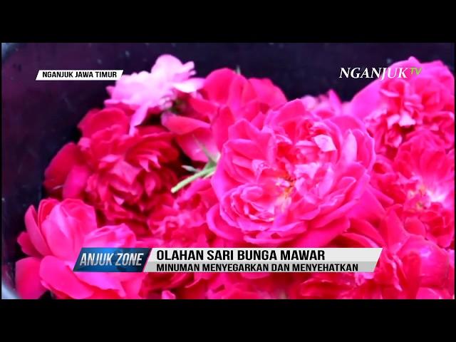 SEGARNYA SIRUP BUNGA MAWAR KHAS SAWAHAN | ANJUKZONE