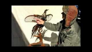 Greg Congleton  PHEASANT SCULPTURE