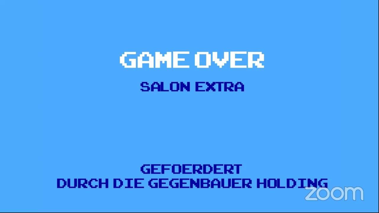 Salon extra: Gaming – Kunst oder Kinderspiel?