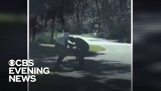 Video emerges of fatal shooting of black jogger