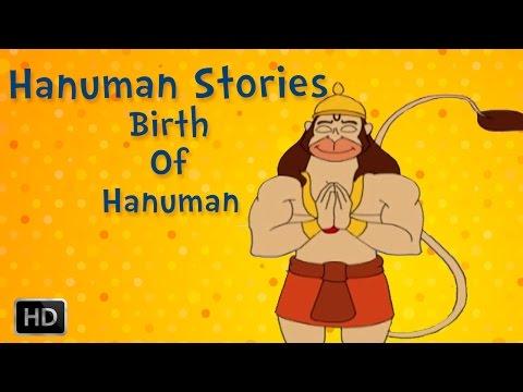 Hanuman Story in English - Birth Of Hanuman - Animated - Kids Short Stories