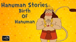 Hanuman Stories for Children - Birth Of Hanuman - English Animated Story