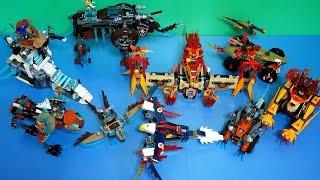 Lego Chima 70141 - 70147 (all)  Quick Build (레고 키마 장난감)