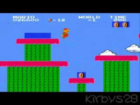Super Mario Bros  (Japan) - The Minus World Glitch