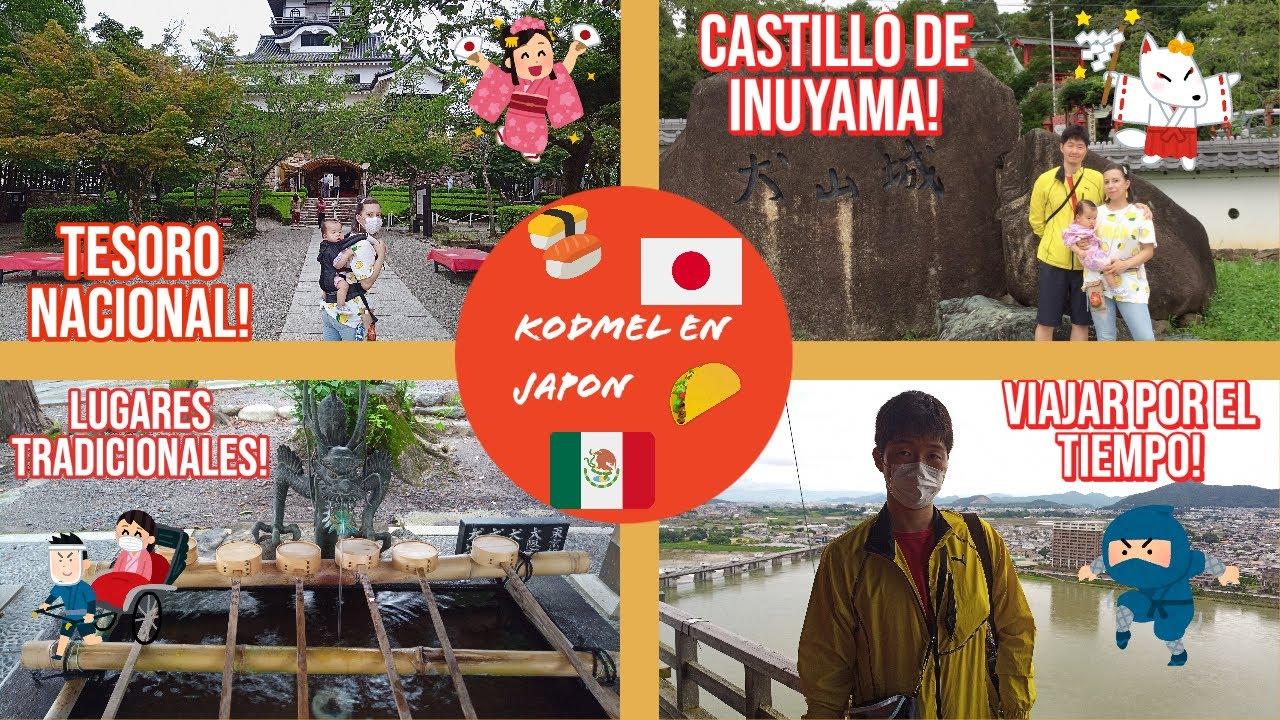 Disfrutando en familia👨👩👧💜+ Visitando castillo de Inuyama🏯+Lugares tradicionales de Japón ⛩ 🇯🇵🇲🇽