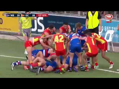 Round 18 AFL - Western Bulldogs v Gold Coast Suns Highlights